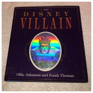 The Disney Villain hardcover book